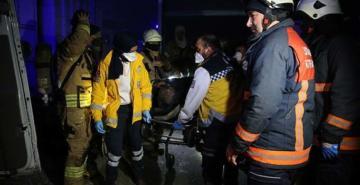 Başakşehir'de Dolapdere Sanayi Sitesi'nde yangın: 1 ölü