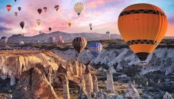 Kapadokya balonlarının ekonomiye katkısı 70 milyon euroyu buldu