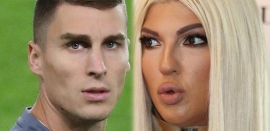 Jelena'dan Boşnak futbolcuya 300 bin euroluk sus payı!