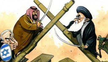 Arap dünyasından çok ilginç karikatür!