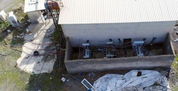 1 milyon liralık kaçak elektriğe 'drone'lu darbe