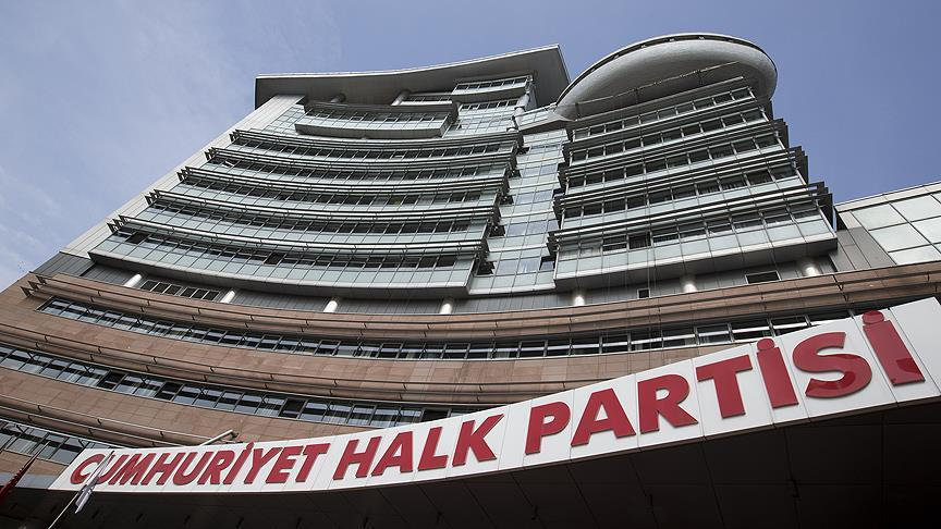 CHP PM ÇARŞAMBA GÜNÜ TOPLANACAK