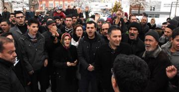Kayseri Hacılar'da köpek isyanı