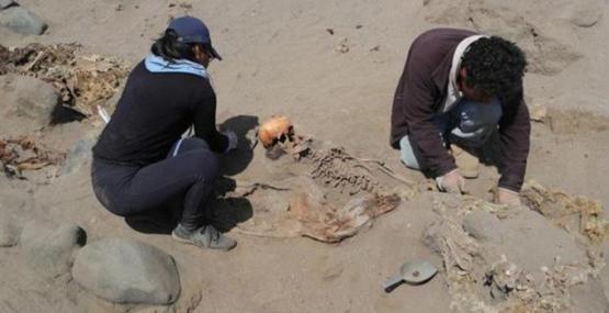 Peru'da tarihin en büyük 'insan kurban töreni' kalıntıları gün yüzüne çıkarılıyor