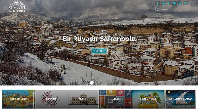 Kültür portalına 4,5 milyonu aşkın ziyaret