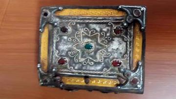 Aydın'da 4 asırlık Tevrat ele geçirildi
