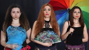Flamenko ve Roman dansı Profilo'da