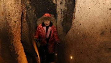 Kapadokya'da 1 milyonu aşkın turist yer altını gezdi