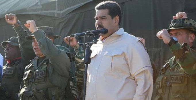 Maduro ABD'ye böyle meydan okudu