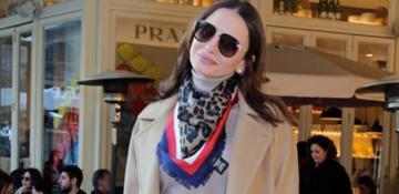 Emina Jahovic AVM'de objektiflere yansıdı