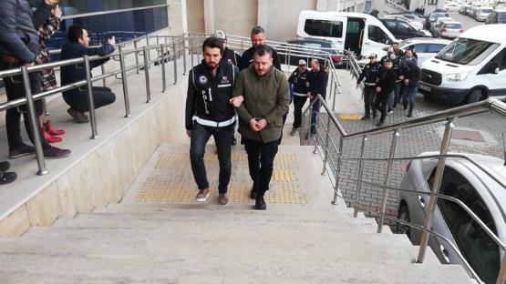 Zonguldak'ta 'Tophane Grubu' operasyonunda 9 şüpheli adliyede