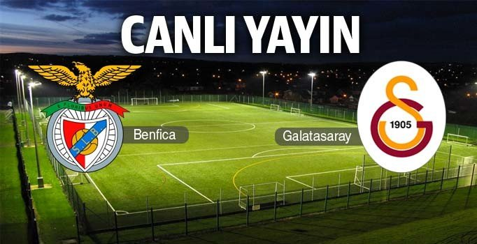 CANLI YAYIN | Benfica – Galatasaray: 0-0