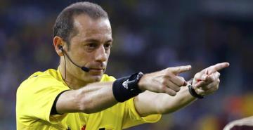Cüneyt Çakır'a dev görev: Şampiyonlar Ligi'nde Lyon Barcelona maçını yönetecek