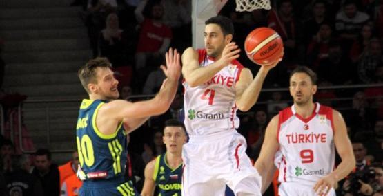 Slovenya tamam sıra İspanya'da