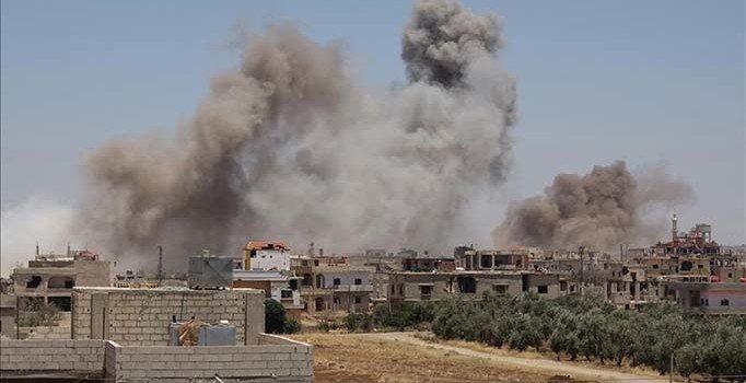 Deyrizor'da çatışmalar sürüyor: Yüzlerce sivil kaçtı
