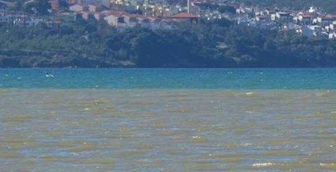 Edremit Körfezi'nde denizin rengi değişti