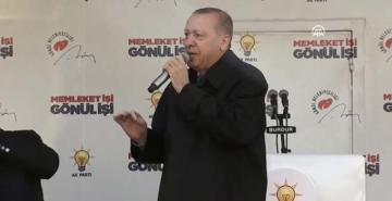 Erdoğan Burdur'da halka hitap etti