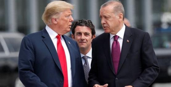 Son dakika! Erdoğan Trump ile Suriyeyi görüştü