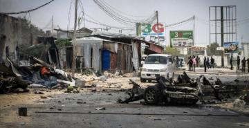 Somali'de eş-Şebab militanlarını taşıyan araç infilak etti