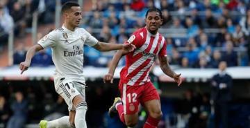 Real Madrid'e evinde Girona şoku