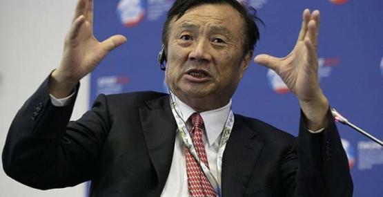 Huawei'nin patronu: Dünya biz olmadan yapamaz