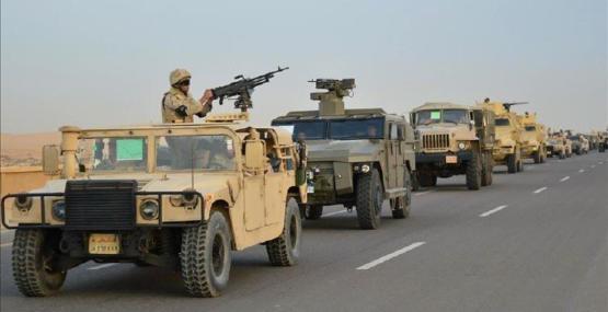 Mısır'ın Sina Yarımadası'ndaki operasyonlarda 16 kişi öldürüldü