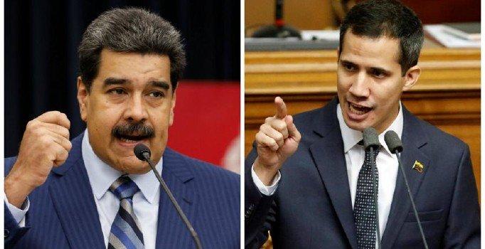 Maduro ve Guaido yeniden sokağa iniyor