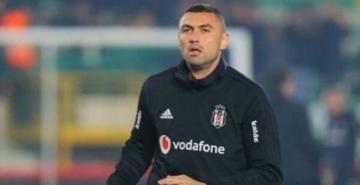 Beşiktaş taraftarı, Burak Yılmaz'ı ilk kez tribünlere çağırdı