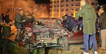 Korkunç kaza: Ağır yaralılar var